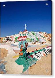 The Colorful Mountain Acrylic Print