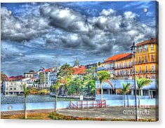 The Colors Of Casco Viejo Acrylic Print by Bob Hislop