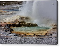 The Colors Of Clepsydra Acrylic Print