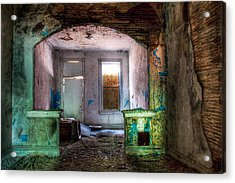 The Colors Of Decay Acrylic Print