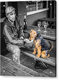 The Colors Of His Life Acrylic Print by Ross Henton