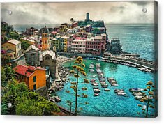 The Colors Of Italy Acrylic Print