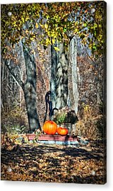 The Colors Of November Acrylic Print by Tricia Marchlik