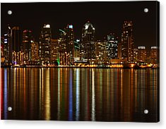 The Colors Of San Diego Acrylic Print