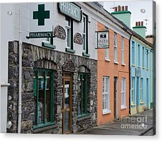 The Colors Of Sneem Acrylic Print by Mary Carol Story