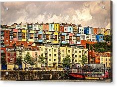 The Colour Of Bristol Acrylic Print by David Warrington