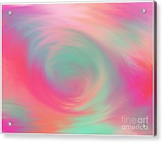 The Colours Of Love Acrylic Print
