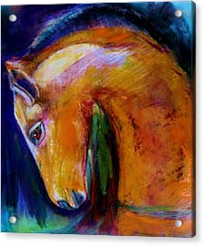 The Colt Acrylic Print by Jean Cormier
