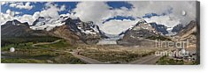 The Columbia Icefield Acrylic Print by Charles Kozierok