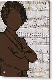 The Concert Critic Acrylic Print