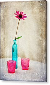 The Coneflower Acrylic Print