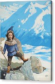 The Conquerer. Acrylic Print