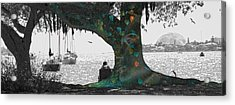 The Conscious Tree Acrylic Print by Betsy Knapp