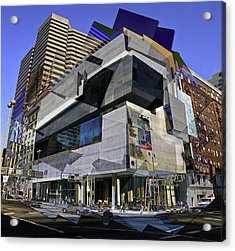 The Contemporary Arts Center Acrylic Print by Scott Meyer