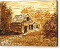 The Cooper's House Acrylic Print by Dan Haley
