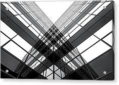 The Corner Acrylic Print by Gerard Jonkman
