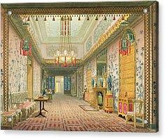 The Corridor Or Long Gallery Acrylic Print by English School