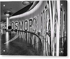 The Cosmopolitan Hotel Las Vegas By Diana Sainz Acrylic Print