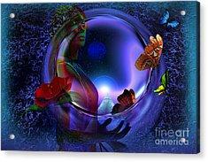 The Cosmos Acrylic Print by Shadowlea Is