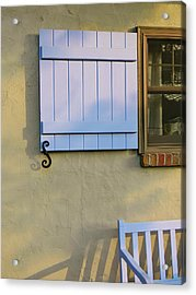 The Cottage Acrylic Print by Jean Goodwin Brooks