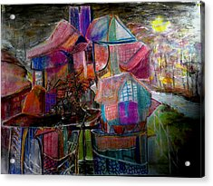 The Cottage Of The Artist Acrylic Print