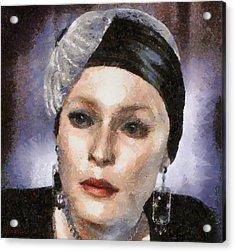 The Countess Acrylic Print by Tyler Robbins