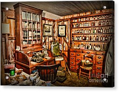 The Country Doctor Acrylic Print by Paul Ward