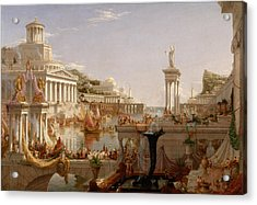 The Course Of Empire Consummation  Acrylic Print