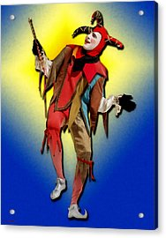 The Court Jester Acrylic Print