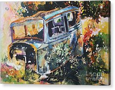 The Courting Car Acrylic Print
