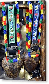 The Cow Bells From Tyrol Acrylic Print