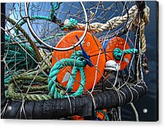 Crab Ring Acrylic Print