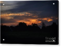 The Crack Of Dawn Acrylic Print by Thomas Woolworth