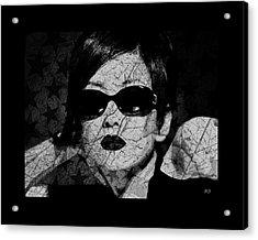 The Cracked Facade Acrylic Print by Absinthe Art By Michelle LeAnn Scott