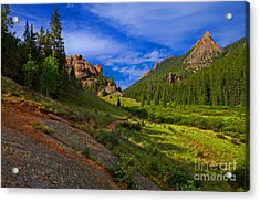 The Craggs Acrylic Print