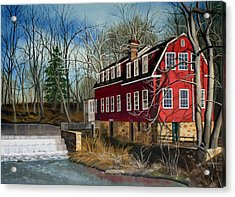 The Cranford Mill Acrylic Print
