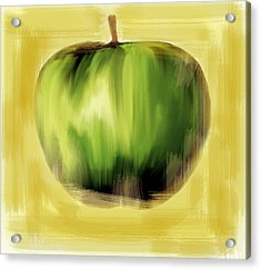 The Creative Apple Acrylic Print by Iconic Images Art Gallery David Pucciarelli