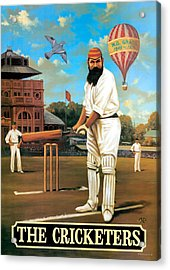 The Cricketers Acrylic Print