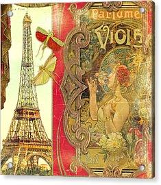 The Crickets Of Paris Acrylic Print by Aimee Stewart
