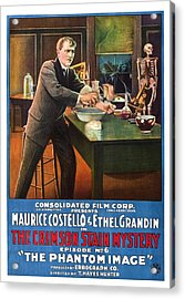 The Crimson Stain Mystery, Us Poster Acrylic Print by Everett