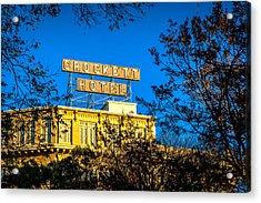 The Crockett Hotel Acrylic Print