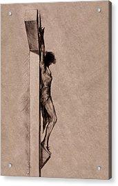 The Cross 2 Acrylic Print by Derrick Higgins