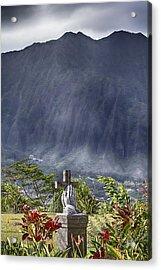 The Cross Acrylic Print by Douglas Barnard