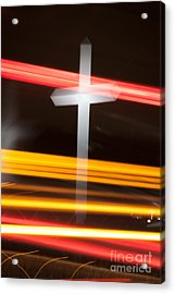 The Cross Acrylic Print by Jim McCain