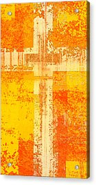 The Cross Within  Acrylic Print