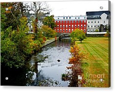 The Crown And Eagle Mill Acrylic Print