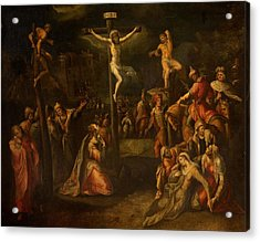 The Crucifixion, 1550?-1700 Acrylic Print