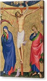 The Crucifixion Acrylic Print by Dutch School