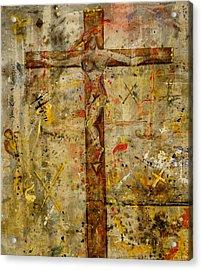 the Crucifying of the Sacred Feminine  Acrylic Print