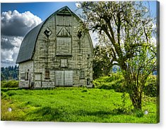 The Crying Barn Acrylic Print by Spencer McDonald